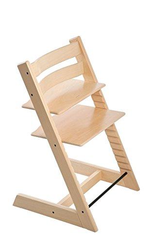 Stokke 100101 - Kinderstuhl / Hochstuhl Tripp Trapp, natur lackiert