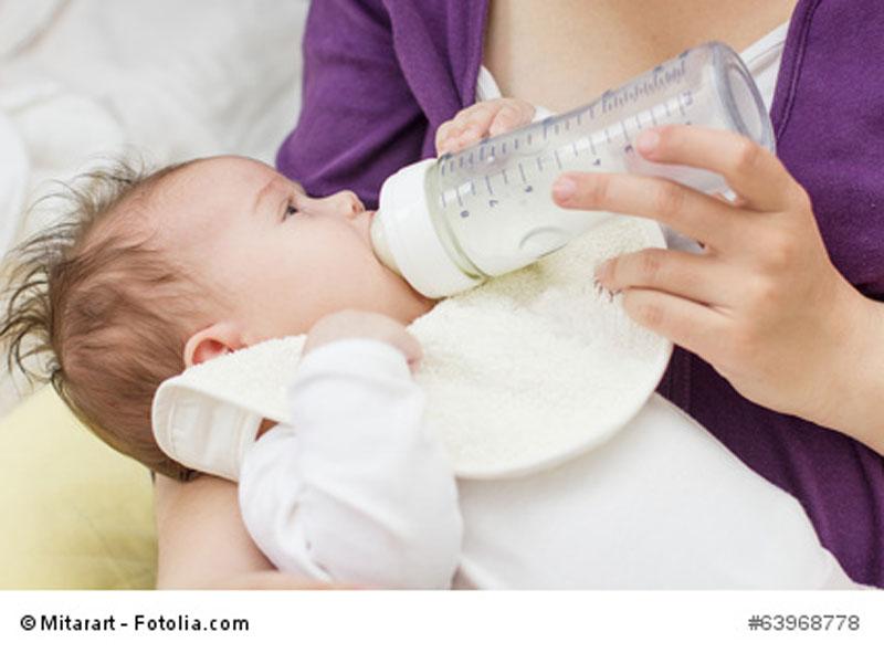 Die Ernährung mit der Flasche