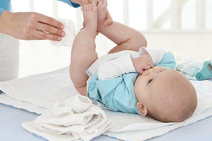 Babypflege - wunder Po