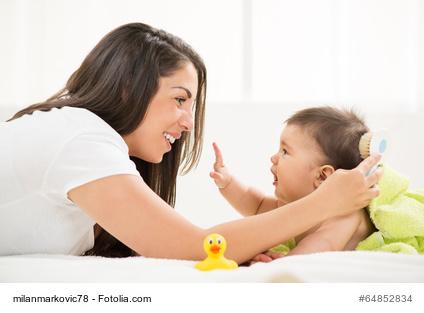 Haarpflege fürs Baby