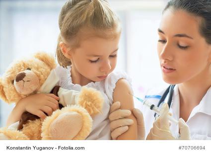 Impfung bei Kindern