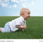 Kind im Bärengang