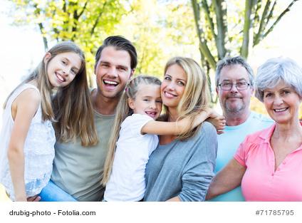 Mehrgenerationen Familie