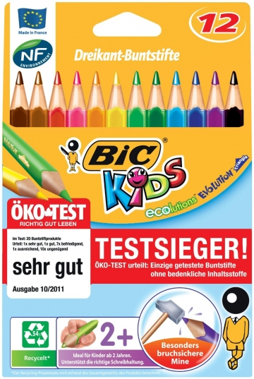 BIC Kids Buntstifte Ecolutions