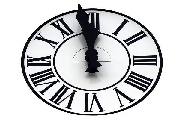 Silvester Kinder Uhr