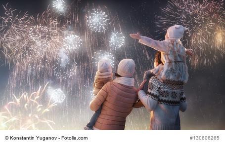 Feuerwerk Kinder